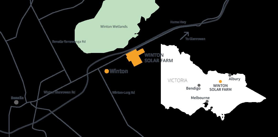 Frv Winton Solar Farm Location
